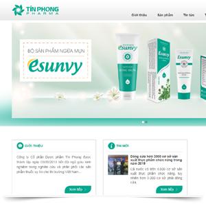 Mẫu thiết kế website giới thiệu công ty_7