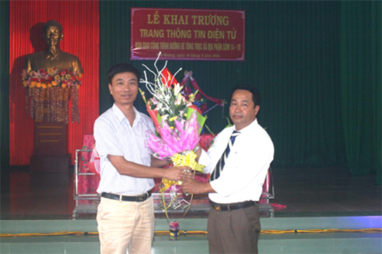 Hải Quang tổ chức khai trương Trang thông tin điện tử