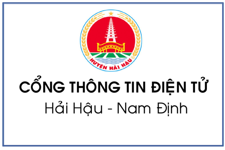 website Cổng thông tin điện tử huyện Hải Hậu