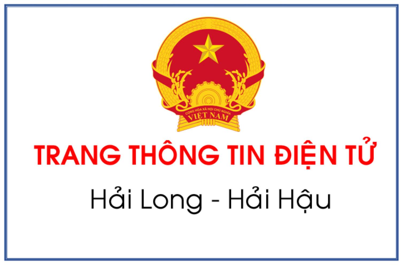 Website Trang thông tin điện tử xã Hải Long