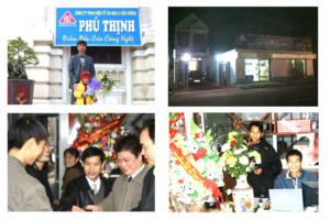 Hình ảnh buổi khai trương Thiết kế website XuanThinhMedia